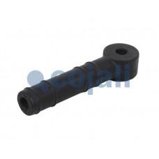 наконечник тяги крана уровня пола 6002202 P-образный d6 L=38 (резин.)