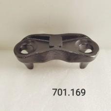 сегмент стремянки UBS24B502P (левый/правый, верхний) ТОНАР с подвеской Weweler (22/5)