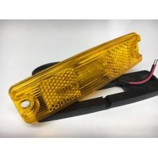 фонарь габаритный 16169 маркерный/провод Желтый (MG7/1)