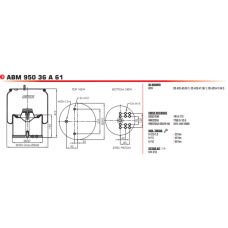 1R14712 (в сборе/стальной стакан) BPW/Tonar