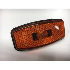 фонарь габаритный 7157 (диод/широкий/Евро) оранжевый (MG7/1)