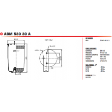 ABM53030А (без стакана) BPW/SAF/Tonar