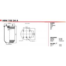 ABM72234A (без стакана) BPW/SAF/Tonar