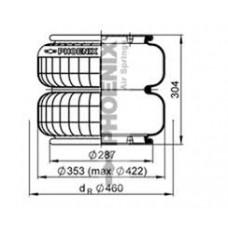 V2B34RB (чулок) Kaessbohrer/Setra