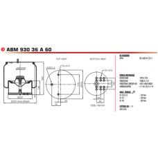 AGA8602 в сборе (стакан сталь) BPW/Тонар