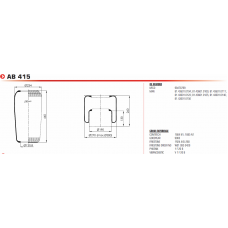 SA520031 (чулок) H440*D230/d131 MAN