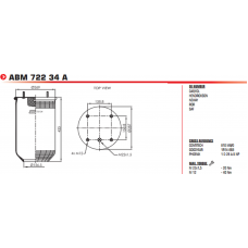 1E19Y2 810MB (без стакана) BPW/SAF/Tonar