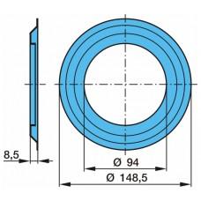 кольцо маслоотражательное 0301093330 84*129*8,5 подшипника ступицы BPW 9Т ЕСО