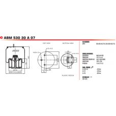 940 MB (в сборе) BPW/SAF/Tonar