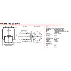 13010A 8813K (в сборе) BPW/SAF/Tonar