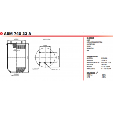 12012A 8813P (без стакана) BPW/SAF/Tonar