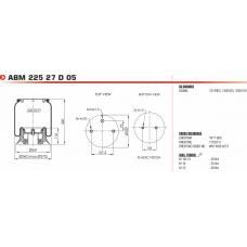 1T15AA3 W01M586251 (подв. мост) Scania 3/4-ser.