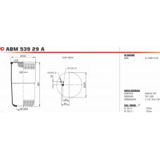 4884N1P01 без стакана (1 шп. M12 + штуц. M16) зад ось/передняя MAN TGA