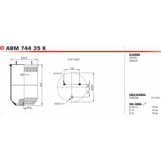 1R14864 (без стакана) 2шп.М12 смещ.30мм/1отв-шт.М22 Schmitz/Weweler