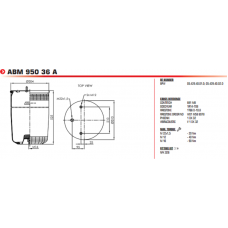 3881P (без стакана) BPW/Tonar