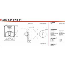 V1DF162 в сборе (1 шп.M12+2 штуц.M16 / 1 отв.M18) MAN  F2000/TGA/TGM/TGS/TGX