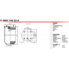 ABM74033A (813MB/O) (без стакана) SAF/ROR/MAZ