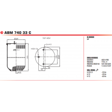 1D28B10NP без стакана (2 шп.+возд. / --) SAF 2923V