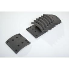 накладки тормозные 19495 00 STD 410*183 (8*18 64 93059) MAN/MB/RVI