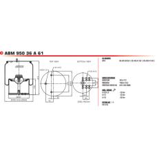 388101K (в сборе/стальной стакан) BPW/Tonar
