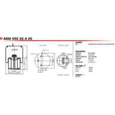 AGA8619 (в сборе) BPW/Tonar
