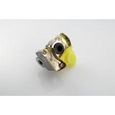 головка соединительная (груша) 6001406 с клапаном (тягач) желтая M22*1.5 (MG8/3)