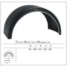 крыло пластиковое без брызговика 5110190 (для сдвоенных колес)  680*1900 R630 ParlokSupra