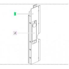 профиль с замком бокового борта левый 602076100 600mm Kogel