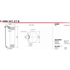 V1DF162NP без стакана(1 шп.M12+2 штуц.M16 / 1 отв.M18) MAN  F2000/TGA/TGM/TGS/TGX