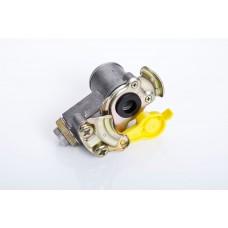 головка соединит. (груша) 6001420 без клапана желтая. со встр. фильтром М16*1,5/М22*1,5 (MG8/3)