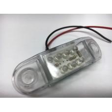 фонарь габаритный 13182 (Маркерный/светодиодный) 190 Белый