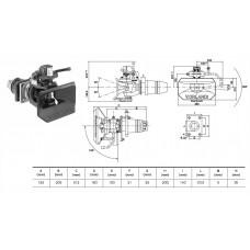 сцепное устройство Е506 (фаркоп) 48мм 160*100 D=190KN V.ORLANDI
