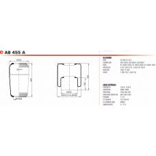2720A без стакана и крышки (чулок) 460*240/d131 BPW/MB/MAN/Neoplan/Volvo