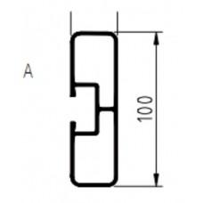 профиль боковой защиты алюминиевый 580.591151 3000мм SCHMITZ/KRONE/KOGEL/ТОНАР