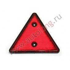 катафот треугольный красный 298