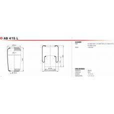 V1F21C2 без стакана (чулок) 230/495 d=131 Iveco/Volvo/MAN